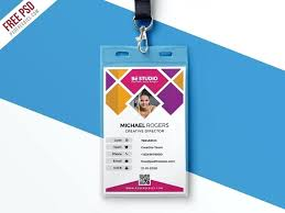 company id card templates creative office id card template download corporate id card template