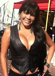 women zipper leather vest