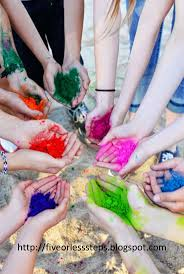 Games To Play With Color Powder L