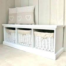 bench with storage benches with storage baskets charming basket bench  storage gorgeous wood storage bench with