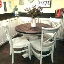 round farmhouse kitchen table round farmhouse table stylish dining set cute coffee small and chairs for round farmhouse kitchen table