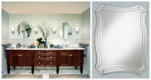 oval mirrors for bathroom. Mirrored Bathroom Vanity | Oval Mirrors For Lowes Frameless O