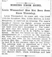 Louis Wessendorf Missing from Home - Newspapers.com