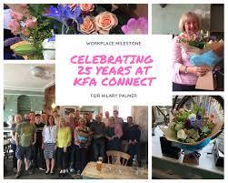 Hilary Celebrates 25 years at KFA! | KFA