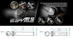 Ar 10 Shift Pins