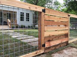 wood and wire fences. Beautiful Wood Easy DIY Hog Wire Fence Cost For Raised Beds How To Build A  Ideas Metal Vines Dogs Gate Railing Modern  And Wood Wire Fences 8