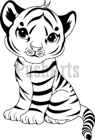 Small Picture Children Baby Tiger Coloring Pages On Decor Tablet remarkable
