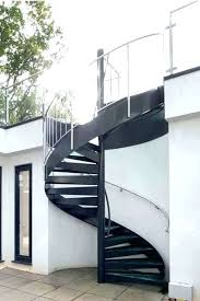 tread details spiral staircase outdoor