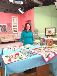 170 best Quilting Arts TV images on Pinterest | Quilt art, Tv ... & Artist Desiree Habicht on the set of Quilting Arts TV Series 1600. #QATV Adamdwight.com