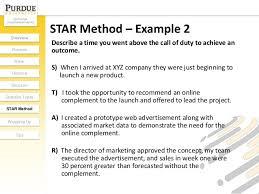 Star Method Resume Examples Star Format Resume Star Format Resume