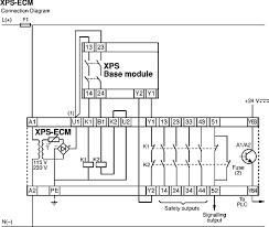 xpsecp5131 preventa xps ecp output module 10 outputs 24 v ac safety relay