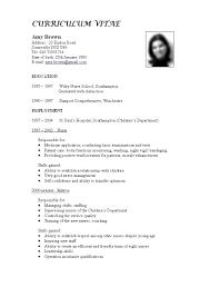 Example Of Resume For Job Resume Builder