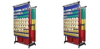 Carson Dellosa Double Pocket Chart Stand Pocket Chart Accessory 158004 2 Pack