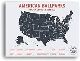 Best Mlb Us Map Of 2019 Top Rated Reviewed