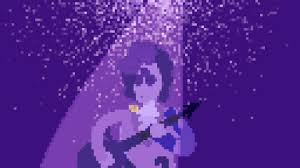 Purple Rain Pixel Art Gif By Johnny2x4 Find Share On Giphy