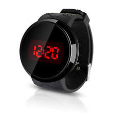 led watches men women new used luxury men s fashion led digital touch screen day date silicone wrist watch