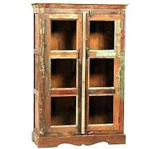 small curio cabinet with glass doors cupboard with glass doors small cabinet curio cabinets decoration pretty