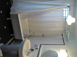 bathroom the perfect shower curtain for claw foot tub more cozy