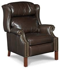 beaumont lane leather recliner chair in sicilian cipriani transitional recliner chairs by homesquare