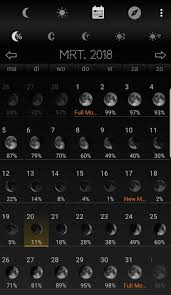 Moon Phase Calendar App Recommendation The Queens Sword