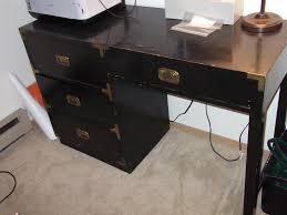 after sarah told me about campaign furniture discovered on little green notebook i was fortunate enough to find a vintage desk of this style at