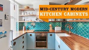 55 Mid Century Modern Kitchen Cabinets Ideas Youtube