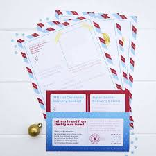 santa or father letter stationery pack by joanne hawker