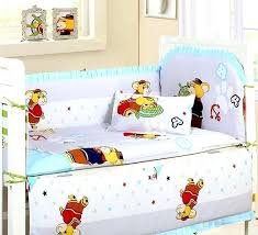 new arrived baby cot bedding kit bed around cotton crib per set nursery cover frame pers
