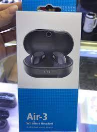 Satın Al Smartphone Için Hava 3 Kablosuz Kulaklık TWS Mini Bluetooth Kulak  Tomurcuklar Kablosuz Kulaklık Ile Mikrofon Stereo Spor Kulaklık Oyun Kulak  Tomurcukları, TL2,987.93