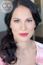 red lipstick makeup sydney