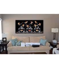 999 living room fish aquarium
