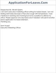 Leave Application Format For Office Enchanting 48 Leave Application For Office For Personal Reason