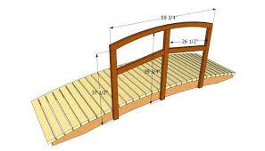 wooden bridge plans wooden bridge design