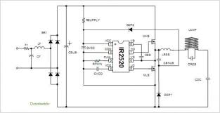 cfl circuit diagram the wiring diagram application notes and circuits for procedures to design 220vac cfl circuit diagram