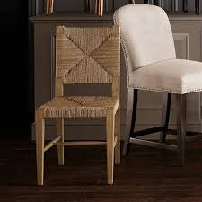Rutherford Woven Rush Dining Side Chair Williams Sonoma Mesmerizing Woven Dining Room Chairs