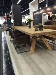 solid wood dining table perfect for farm house