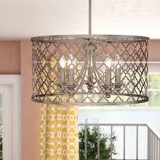drum chandelier