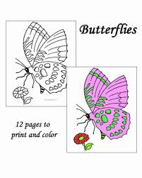 Top 25 butterfly coloring pages: Butterfly Coloring Pages Sheets And Pictures