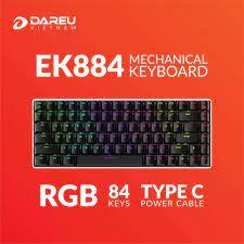 Bàn phím cơ Dare-U EK884 RGB (D-Switch)