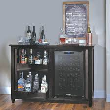 Wine Credenza Cooler Mezzo Wine And Spirits Credenza With Bottle  Touchscreen Home Improvement Wine Cooler Credenza