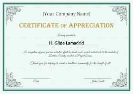 Employee Recognition Certificates Templates Bkperennials