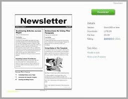 free microsoft word newsletter templates 53 awesome gallery of family newsletter template microsoft word