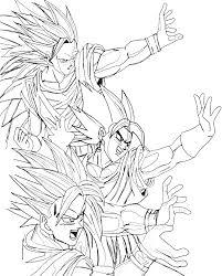 Small Picture Goku Super Saiyan God Coloring Pages Super Saiyan God By Saiyan