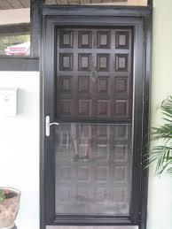 aluminum security screen door. Retractable Screen Door Lowes Residential Steel Security Doors Wood Aluminum