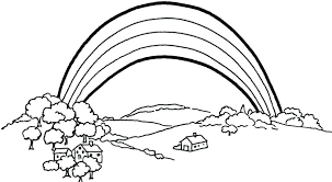 Rainbow Coloring Pictures Free Printable Rainbow Coloring Pages For
