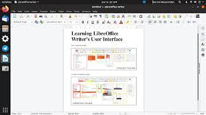 Btw, if you mess up, you can reselect the line (if it isn't still defined by an object box), and delete it. Libreoffice Writer The User Interface