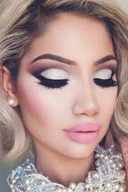 amazing glitter christmas makeup ideas see more