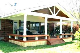 patio covered porch plans bbq house plan ideas design outdoor screened patios as well
