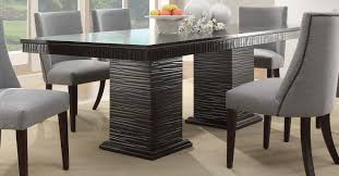 espresso dining table and chairs. homelegance chicago dining table - espresso and chairs a