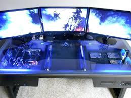 pc built into desk best gamer setups and furniture computer build inside the desk custom built pc built